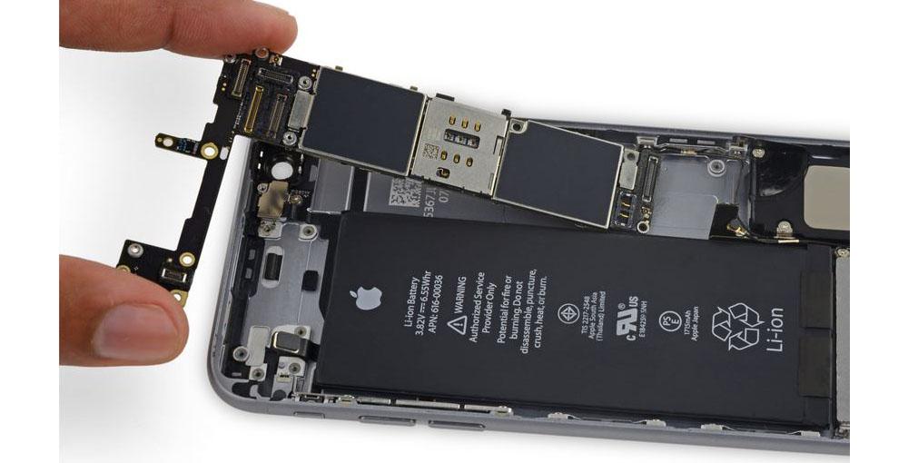 Замена аккумулятора айфона 6S в Броварах