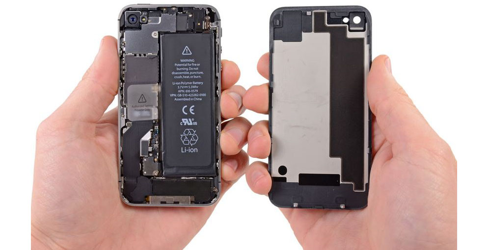 iphone 4s замена кнопки беззвучного режима